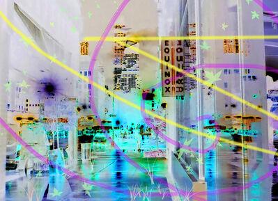 Carlos Rodal, 'Platinum Night in Manhattan', 2019