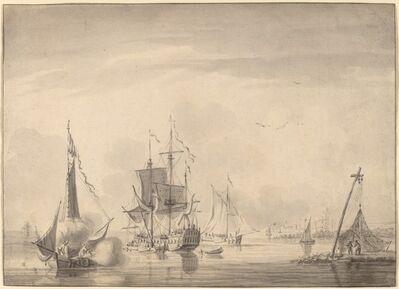 John Greenwood, 'Harbor Scene', ca. 1760