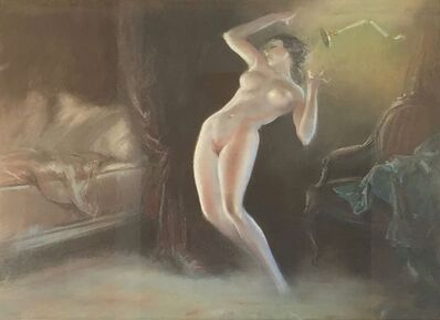 Everett Shinn, 'Nude in the Bedroom', ca. 1930