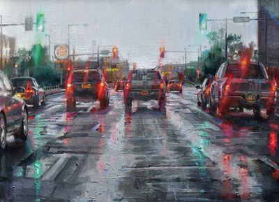 Dianne L. Massey Dunbar, 'Driving in the Rain', 2012