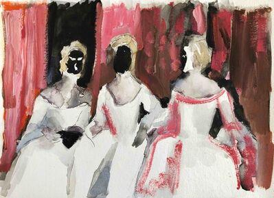 Tomas Harker, 'Masquerade (study)', 2018