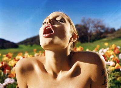 David LaChapelle, 'Angelina Jolie: Lusty Spring', 2001