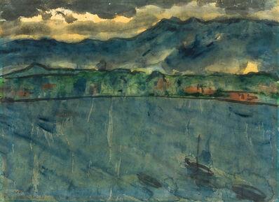 Emil Nolde, 'Evening mood at the sea', 1925/30