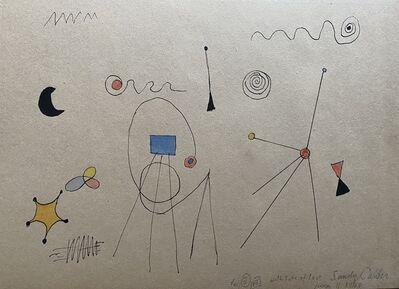 Alexander Calder, 'Abstract Composition ', 1948