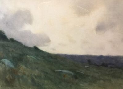 Charles Warren Eaton, 'Misty Hillside', ca. 1900