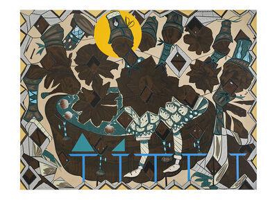 Lari Pittman, 'Found Buried #10', 2020
