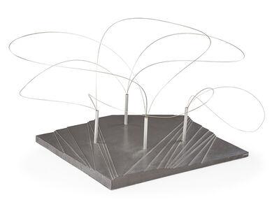 Aiko Miyawaki, 'Maquette for Utsurohi sculpture for MA-Espace/Temps au Japon exhibition for Festival d'Automne at the Musée des Arts Décoratifs, Paris', 1978