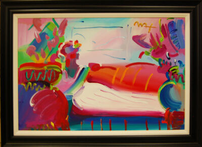 Peter Max, 'Lady in Repose', 1999