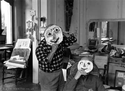 Lee Miller, 'Picasso and Jaime Sabartes, Villa la Californie, Cannes, France 1956', 2012