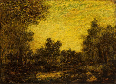 Ralph Albert Blakelock, 'The Enchanted Forest', Late 19th century