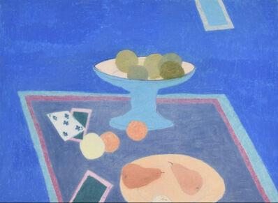 Bernard Myers, 'Still life with blue vase', 1980