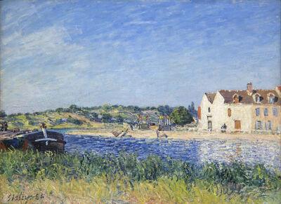 Alfred Sisley, 'Confluent de la Seine et du Loing', 1885