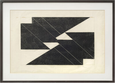 Lygia Pape, 'Untitled, from the series Tecelares', 1957