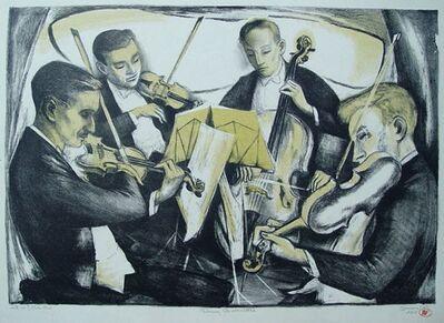 Benton Spruance, 'String Quartet', 1947