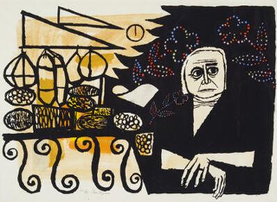 Gregorio Prestopino, 'FIESTA', ca. 1950