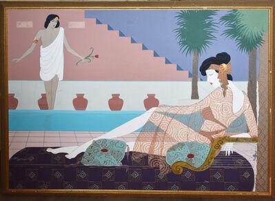 Lillian Shao, 'Art Deco Roman Figures', 1990-2000