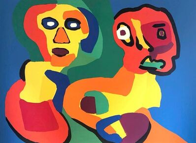 "Karel Appel, '""Twins Maybe""', 1974"