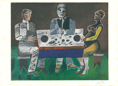 Franco Gentilini, 'Bei Tisch / At the Table', 1965