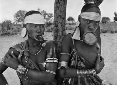 Sebastião Salgado, 'Mursi village of Dargui in Mago National Park, near Jinka. Ethiophia.', 2007