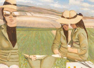 Douglas Warner Gorsline, 'Plateau Reader II'
