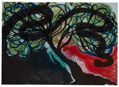 Chris Ofili, 'Tempest from Paradise by Night', 2010