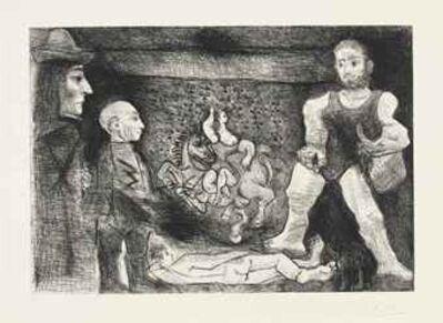 Pablo Picasso, 'Plate 1', 1970