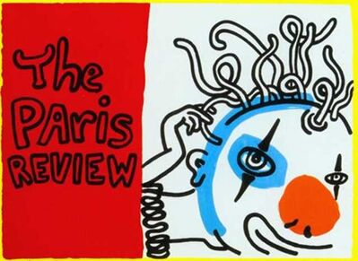 Keith Haring, 'Paris Review AP', 1989