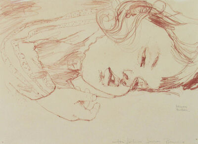 Bruno Bobak, 'Untitled (Anny Sleeping II)', ca. 1960
