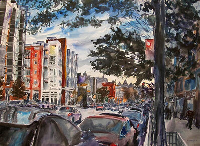 Richard Fitzhugh, '14th Street and W Street, NW'