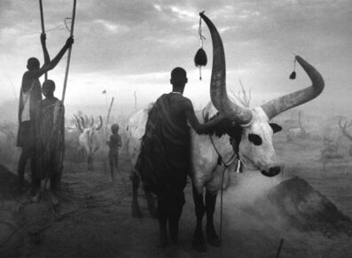 Sebastião Salgado, 'Dinka Group at Pagarau Cattle Camp, Southern Sudan, Africa', 2006-printed 2008
