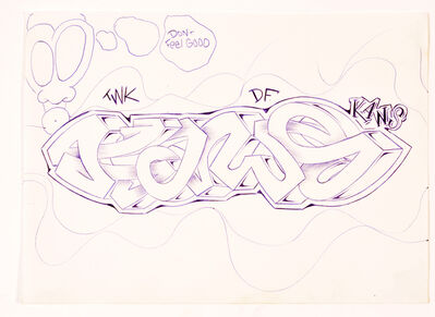 KAWS, 'UNTITLED (KAWS)', CIRCA 1993 – 1994