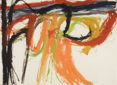 William Crozier, '(Untitled) Landscape', 1961