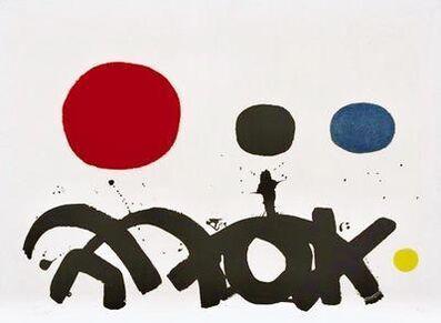 Adolph Gottlieb, 'Arabesque', 1967