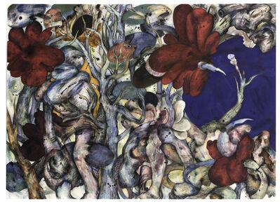 Ahmed Alsoudani, 'Flower', 2018