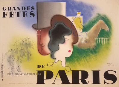 Jean Carlu, 'Grande Fetes Du Paris 1934 - Fashion', 1934