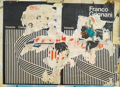 Raymond Hains, 'Venezia', 1966