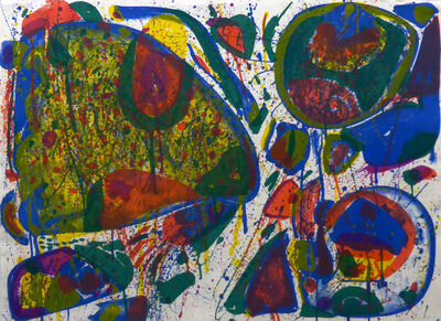 Sam Francis, ' Bright Jade Ghost (Variant II)', 1963