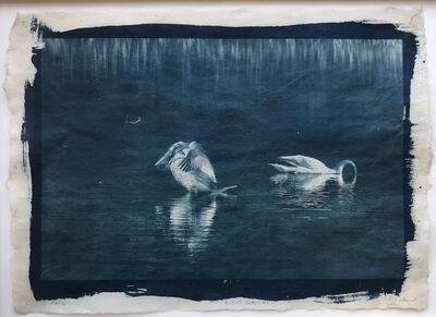 Randy Richmond, 'Night Swans #1', 2019