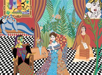Helen Zughaib, 'Hommage à mes Amis', 2018