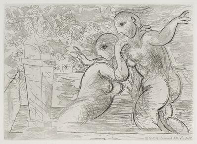 Pablo Picasso, 'Les Baigneuses Surprises', 1933