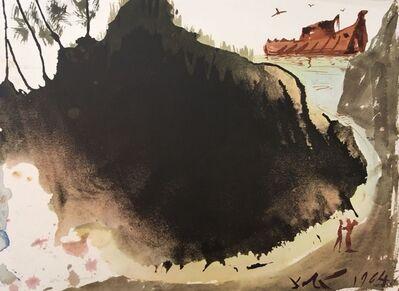 """Salvador Dalí, 'Aquae diluvii super terram - From """"Biblia Sacra""""', 1964"""