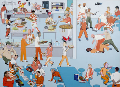 Nancy Chunn, 'Scene V: The Jail, Detail: Kitchen Cafeteria', 2016