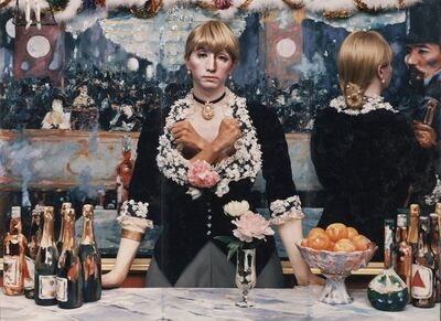 Yasumasa Morimura, 'Daughter of Art History, Theater A', 1989