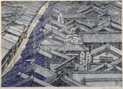 Junichiro Sekino, 'Nishijin in Snow', 1973