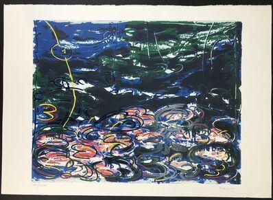 Mario Schifano, 'GIGLI D'ACQUA', 1988