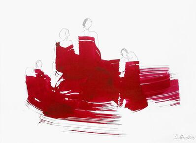 Bettina Mauel, 'The Red Cloth 61 (framed)', 2013