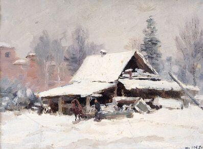 Pavel Fedorovich Shardakov, 'Wet snow', 1957