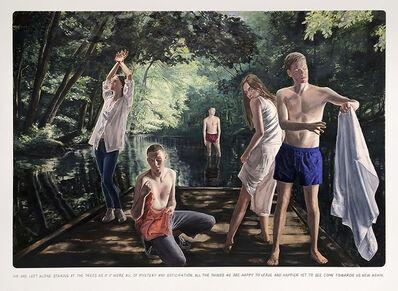 "Muntean & Rosenblum, 'Untitled (""We are left alone..."")', 2020"