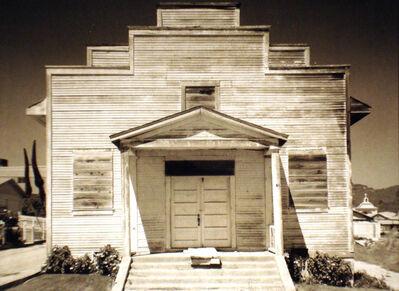 Ansel Adams, 'Meeting House, Davenport, California', 1975