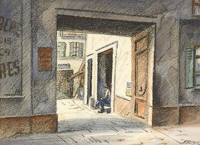 Henry Gasser, 'Untitled (Man in the Doorway)'